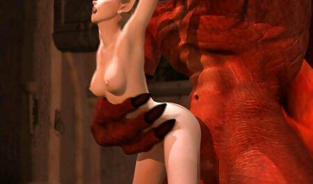 भव्य सेक्सी मूवी फिल्म वीडियो आकार के साथ सेक्सी गोरा खुद को बीडीएसएम में कोशिश करता है